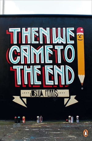 Penguin Street Art: Then We Came to the End by Joshua Ferris