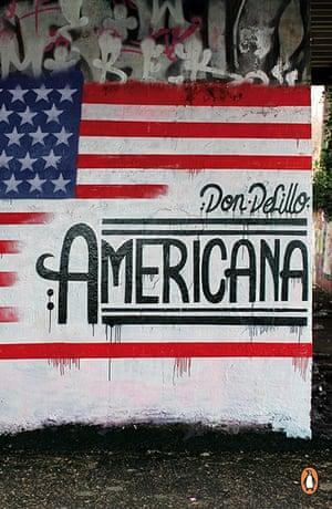 Penguin Street Art : Americana by Don Delillo