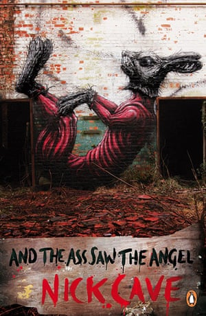 Penguin Street Art :  And the Ass saw the Angel by Nick Cave