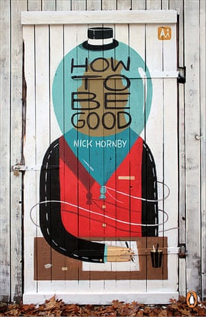 Penguin Street Art : How to be Good by Nick Hornby