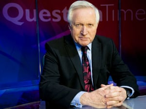 David Dimbleby, the chair of Question Time
