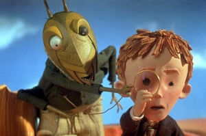 Readers' ten: The Old Green Grasshopper, James and the Giant Peach