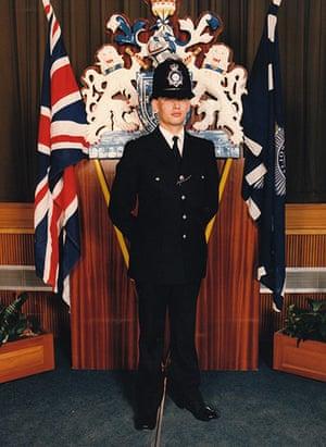 Peter Francis: Peter Francis in uniform