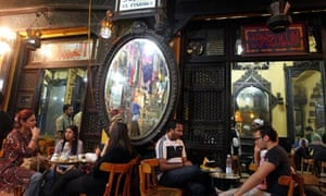 Al-Fishawi cafe in Khan al-Khalili bazaar