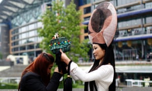"""Lego of my hat!"" See more pictures from Ladies Day in our gallery."