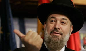 Yona Metzger, the chief rabbi of Israel, has been questioned by police