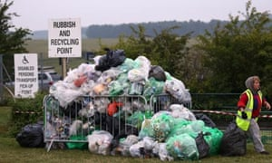 Summer solstice clean-up operation begins at Stonehenge