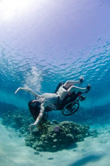 Wheelchair Ballet Underwater It S More Like Flying Than