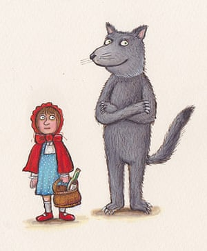 Red Riding Hood: Red Riding Hood by Axel Scheffler