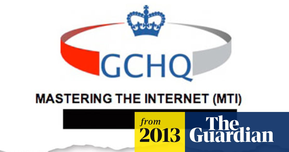 GCHQ taps fibre-optic cables for secret access to world's