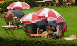 Can you still drink Pimm's in the rain?