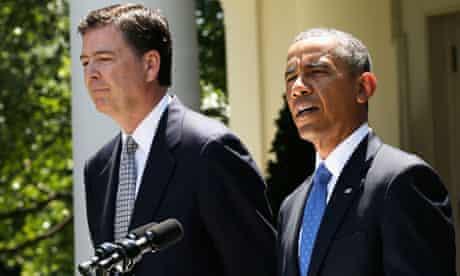 Obama announces James Comey to head FBI, 21 June 2013