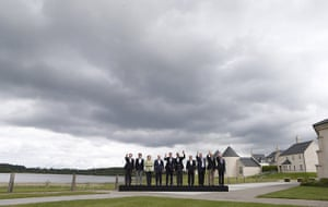 20 Photos: G8 leaders at the G8 Summit, at Lough Erne, in Northern Ireland