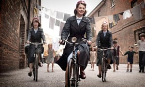 Call the Midwife: on the move to new sets.