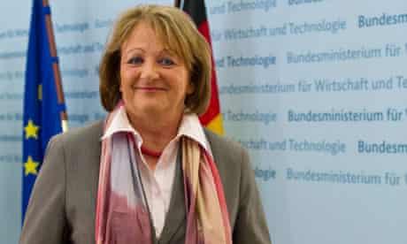 The German justice minister, Sabine Leutheusser-Schnarrenberger