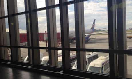 Snowden's Aeroflot plane