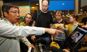 Journalists seeking Edward Snowden at Moscow airport