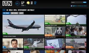 ITN news app for iPhone and iPad