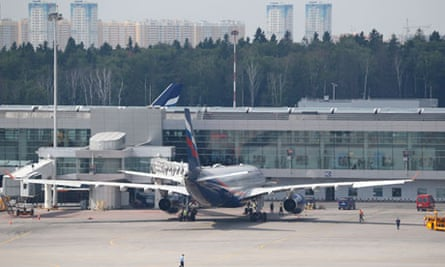 The Aeroflot Airbus 330 which was expected to carry Edward Snowden to Havana