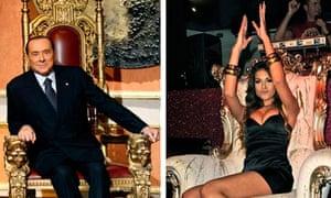 Berlusconi and Mahroug