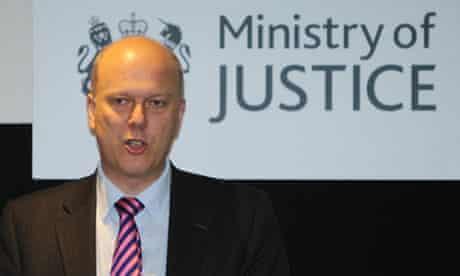 Chris Grayling probation services privatisation