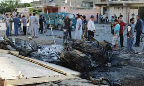 Iraq car bomb attacks kill 33 and injure more