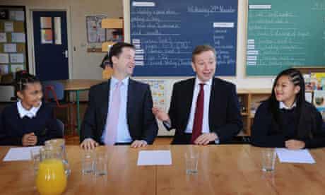 Spending review battle Nick Clegg Michael Gove