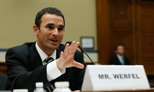 Acting IRS commissioner Danny Werfel