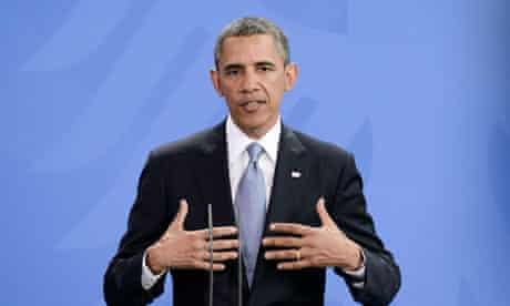 President Barack Obama Visits Berlin