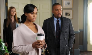 Darby Stanchfield, Kerry Washington, Columbus Short in Scandal