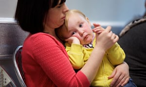 Bradford: woman and child
