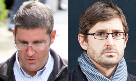 Allan Debenham and Louis Theroux