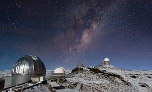 A Month in Space: ESO's La Silla Observatory