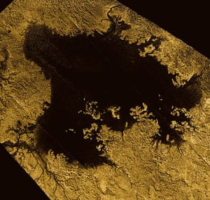 A Month in Space: second largest known body of liquid on Saturn's moon Titan