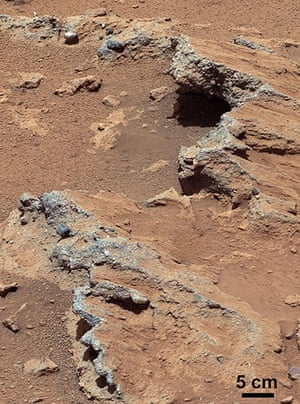 A Month in Space: Curiosity rover found evidence for an ancient, flowing stream on Mars