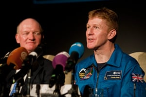 A Month in Space: British astronaut Major Tim Peake