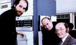 Roger Scantlebury, Derek Barber and Donald Davies