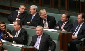 Simon Crean during a division in the House of Representatives this afternoon in Parliament House. The Global Mail.