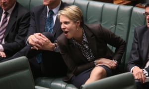The Minister for Health Tanya Plibersek during question time. The Global Mail.