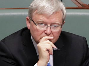 Kevin Rudd has confirmed he is a candidate.
