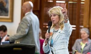 Texas Sen. Wendy Davis filibuster