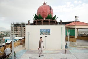 Kabul's new rich: On the roof of the Pomegranate Tower