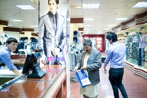 Kabul's new rich: A fashion shop in the Majid Mall