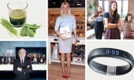 The new order: juices, Gwyneth Paltrow, Tiger Mum Amy Chua, Nike Fuel Band and the Apprentice.