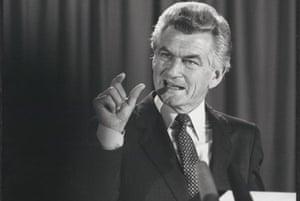 Bob Hawke. Photograph: nla.gov.au