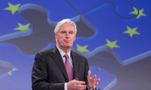 EU Commissioner for Internal Market and Services Michel Barnier announcing the new deal on bank bailouts early today.
