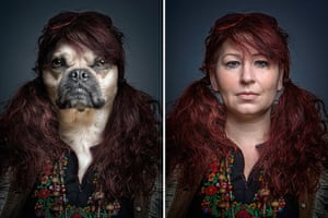 Dogs Dressed As Owners: Red Head