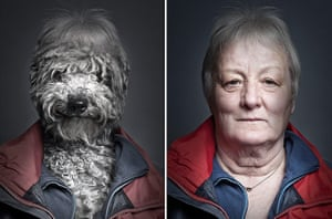 Dogs Dressed As Owners: Grey Hair