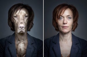 Dogs Dressed As Owners: short red hair