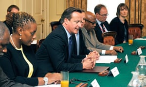 David Cameron hosts overseas territories and crown dependencies meeting